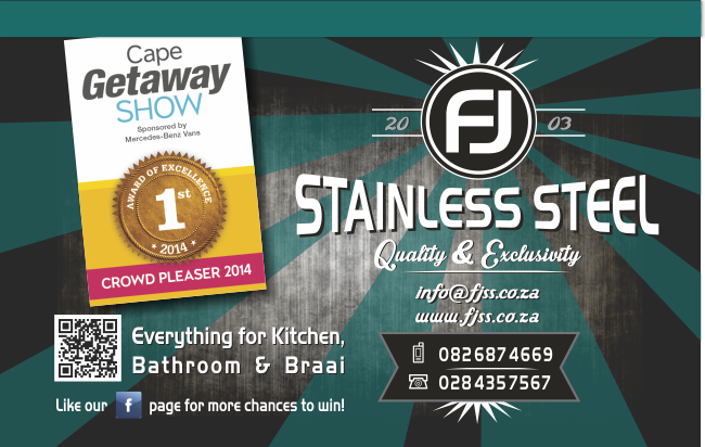 FJ Stainless Steel – Design for advertisement