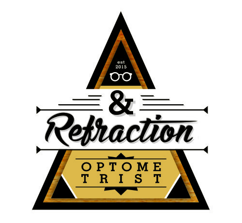 &Refraction – Logo design & presentation
