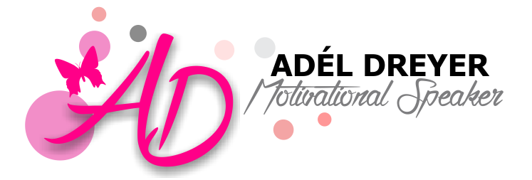 Adél Dreyer motivational speaker – logo design & marketing material