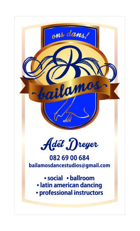 Bailamos Dance Studio – New logo design & marketing material