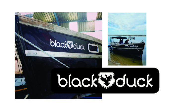 Black Duck – Design for boat name